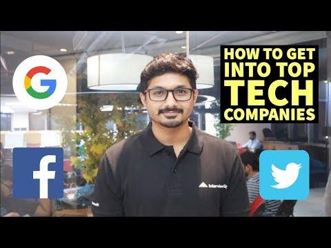 How to get into Top Tech Companies (2019)   Google   Facebook   Amazon