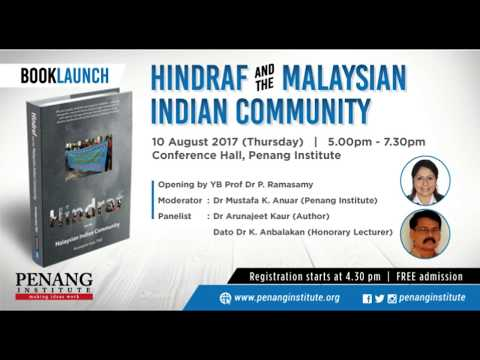 Book Launch : Hindraf and the Malaysian Indian Community