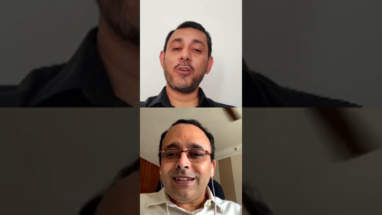 Live Session ft. Mr. Sourabh Chatterjee & Mr. Venkateshwaran Srinivasan