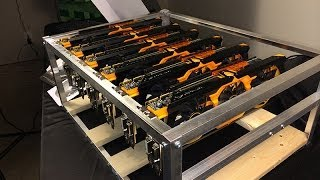BBT Episode 10: 6x R9 280x TOXIC Mining Rig! Over 4.6 M/hash Litecoin, Dogecoin unleashed!