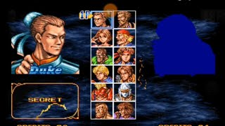 Unlock Duke and Shuko in Double dragon neo geo with tutorial fully explained