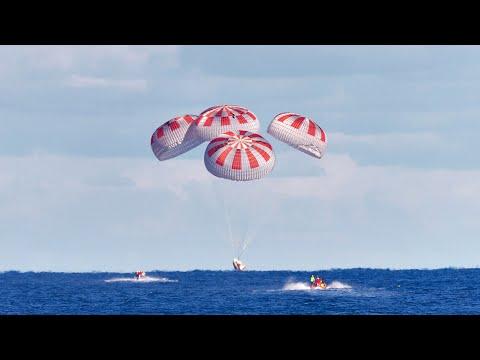 🔴 EN DIRECT AMERISSAGE SPACEX CREW-1 DE L'ISS (NASA / SPACEX CREW DRAGON)
