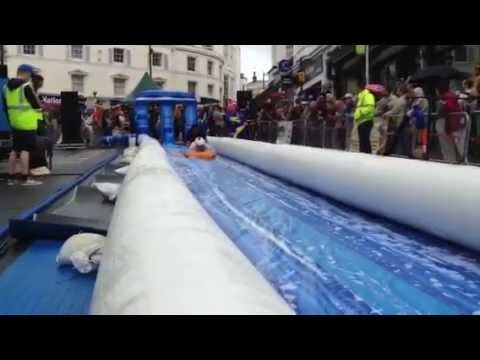 Isle of Wight County Press editor Alan Marriott on the Bestival Ryde Slide