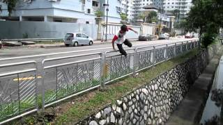 2015 Battle Online Challenge Parkour Of Local Team Malaysia : INFINITY FR