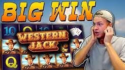 BIG WIN on Western Jack slot