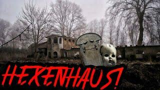 LOST PLACE - Das verlassene GRUSEL HEXENHAUS! BEGRABEN AUF EIGENEM GRUNDSTÜCK?!