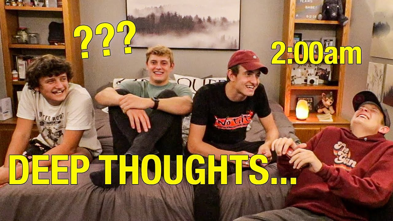 Deep Thoughts at 2am *DELIRIOUS Q&A*