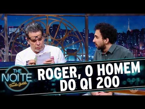 The Noite (11/10/16) - Roger, o Homem do QI 200: O diário de Murilo