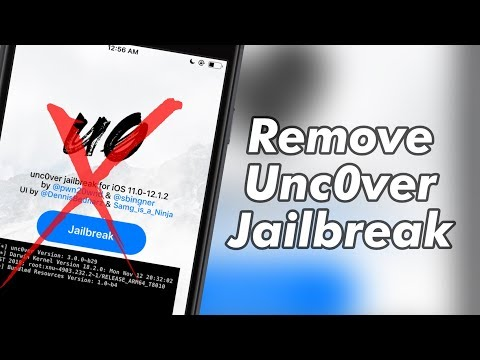How to Remove Unc0ver Jailbreak without restoring - iOS 12 / 12.1.2