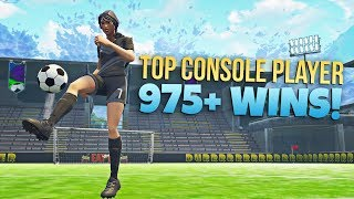 TOP CONSOLE PLAYER // 975+ WINS // PRO FORTNITE PLAYER