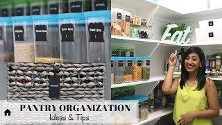 Pantry Organization | Ideas & Tips