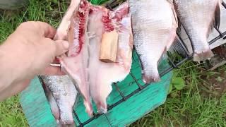 Как я копчу рыбу