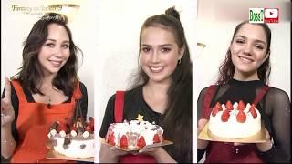 E.TUKTAMYSHEVA, E.MEDVEDEVA & A.ZAGITOVA - Cooking Show, Fantasy on Ice Kobe 2019