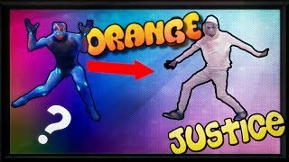 Como hacer el baile de Justicia Naranja fácil. (Orange Justice) Fortnite.