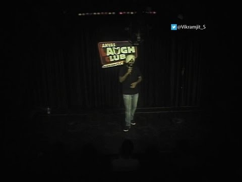 Pakistani Guy in an Indian Comedy Club| Vikramjit Singh  #Unscripted