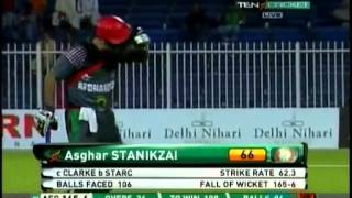 Afghanistan vs Australia 1st ODI Highlights   25-08-2012   Cricket Highlight part 2