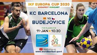 IKF ECup 2020 KC Barcelona - Ceské Budejovice (KCC SOKOL)