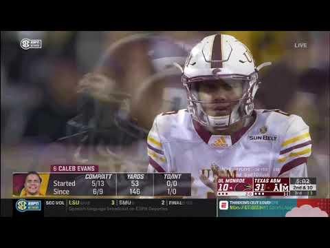 Texas A&M Vs UL-Monroe 2018 Highlights