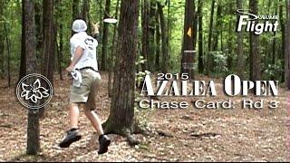 Chase Card: Round 3 Azalea Open 2015 Disc Golf Tournament