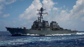 VOA连线(乔栈):中国发布国防白皮书后美军舰通过台湾海峡