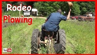 Plowing With the ST16 Sears Hoss Tractor