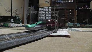 【鉄道模型】HOゲージ EH800牽引高速貨物VSE5系新幹線