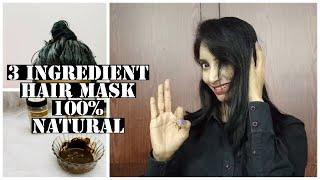3 Ingredient Hair Mask 100 Herbal Natural Chemical Free SahiJeeth