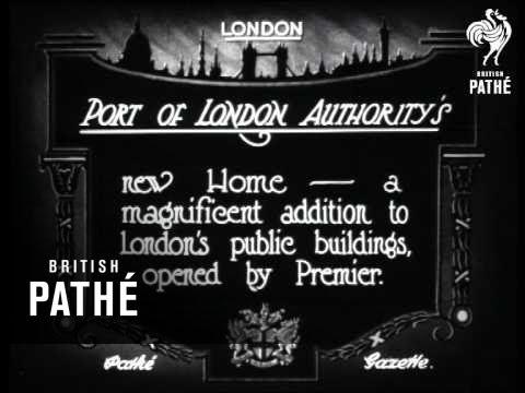 Port Of London's Authority's (1922)