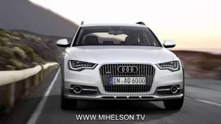 New Audi A6 Allroad - видео слайд с Александром Михельсоном(Первый взгляд на новый Audi A6 Allroad - модель 2012 года. Двигатели, комплектации, внешние данные, цены., 2012-01-21T16:20:54.000Z)
