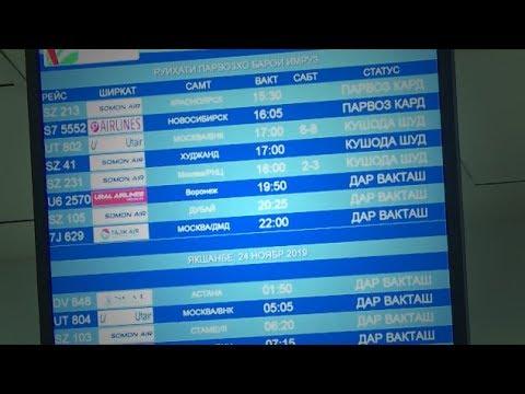Аэропорт Душанбе усилил санитарный контроль рейсов из Китая