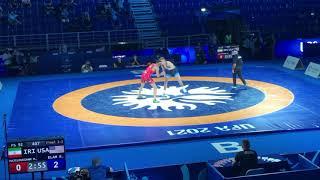 Вольная борьба Чемпионат Мира 2021 Финал 92кг Роки Элам США Махди Хайлуянморафах Иран