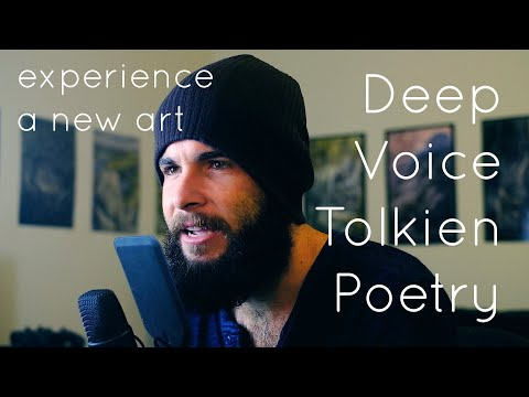 Misty Mountains Poetry Reading - Deep Voice LOtR Spoken Word ASMR Poetry by Zac Conway