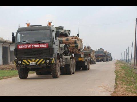Syrie : la Turquie déploie son armée au sud d'Alep
