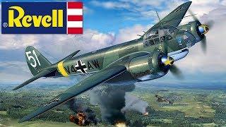 FULL VIDEO BUILD REVELL JUNKERS Ju88A-4 BOMBER