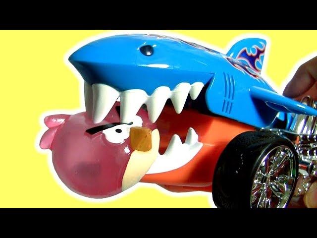 Surprise Toys Shark Attack Big Hero 6 The Good Dinosaur Angry Birds
