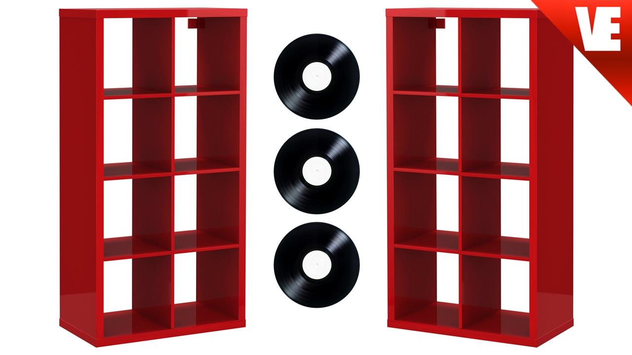 #expedit #kallax #vinyl