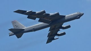 Download Video B-52 Stratofortress - Westover Airshow 2018 MP3 3GP MP4