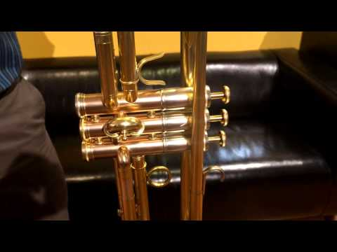 Adams A1 Trumpet Demo  The Trumpet Shop at Schmitt Music Brooklyn Center