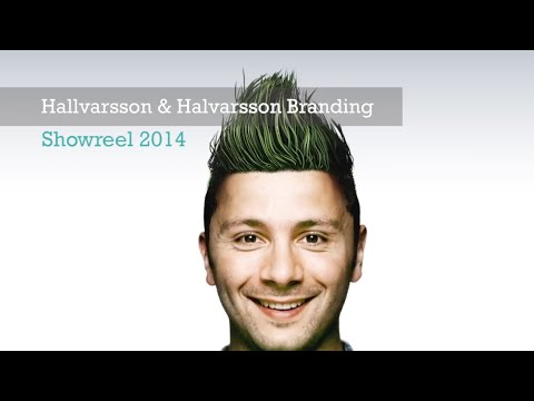 Hallvarsson & Halvarsson Branding Showreel 2014
