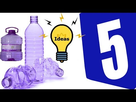 5 Awesome Ideas With Plastic Bottles Plastic