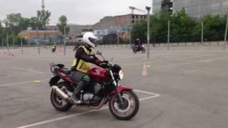 Motosiklet eğitimi 1.ders görüntüleri (3.bölüm)