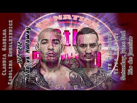 UFC 212: Aldo vs. Holloway 6th Round post-fight show