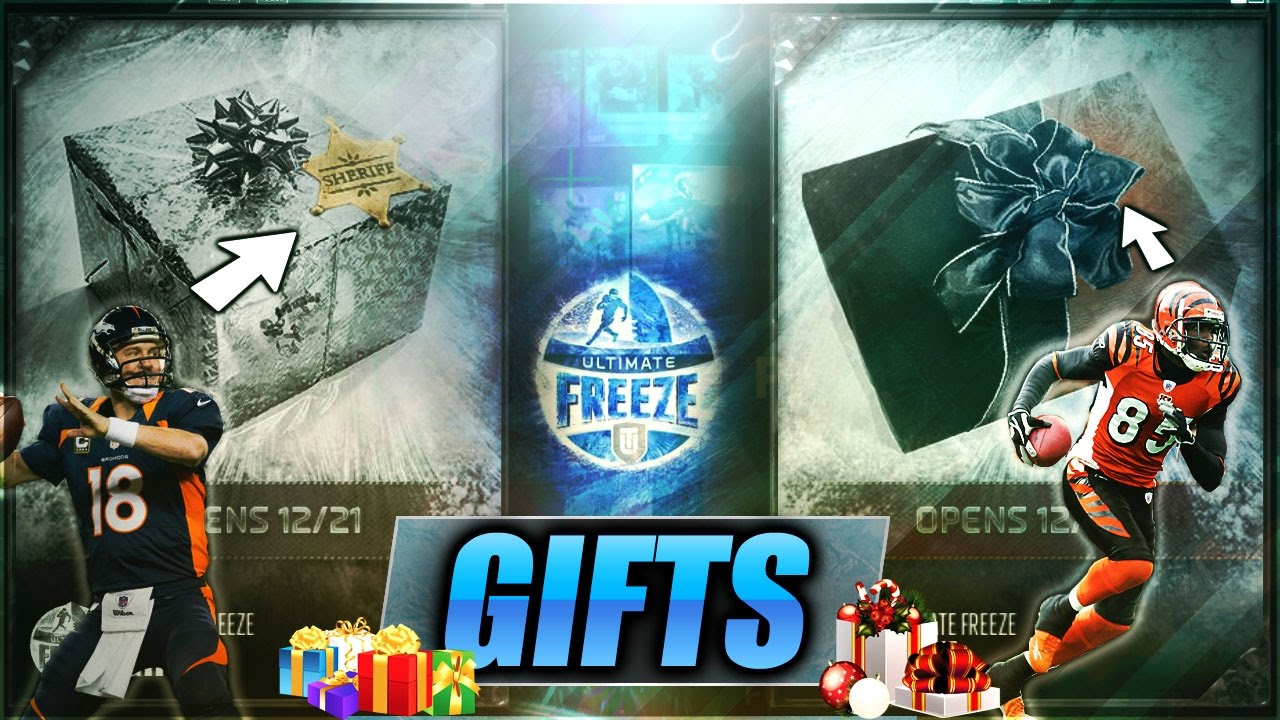 REVEALING ALL THE GIFT HINTS FOR ULTIMATE FREEZE PROMO! PEYTON ...