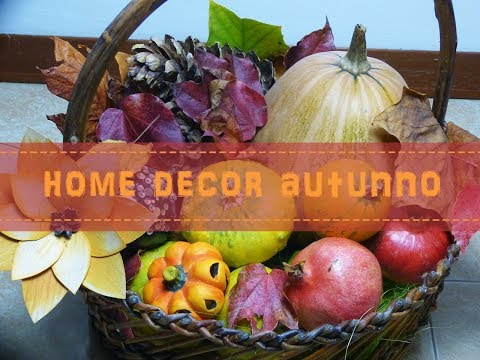 DIY: Autumn Home Decor  Idea  🍁Decorazione Autunno Fai da te