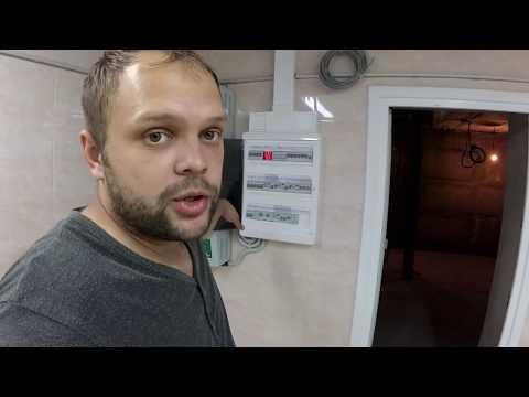 Обзор электромонтажа в частном доме.