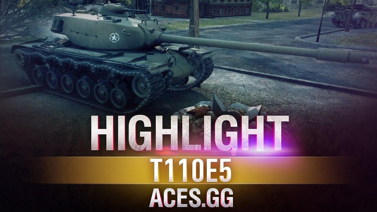 Городской Гангстер! Т110Е5 | World of Tanks