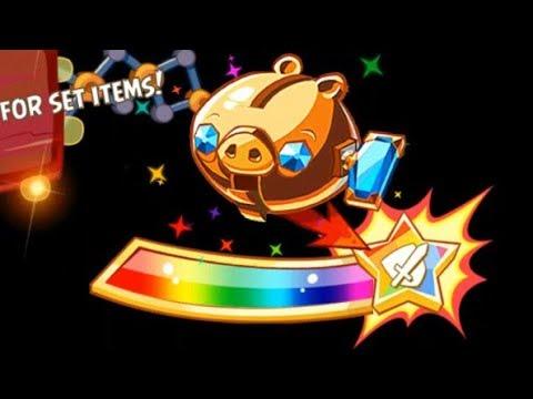 Angry Birds Epic Rpg New HACK Mod Free Rolls Legendary Set Golden Pig