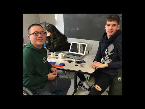 Baruch College Campus High School 2019-2020 InvenTeam