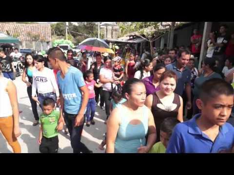 Desfile de Correos en Las Fiestas Tradicionales de El Salitre 2016