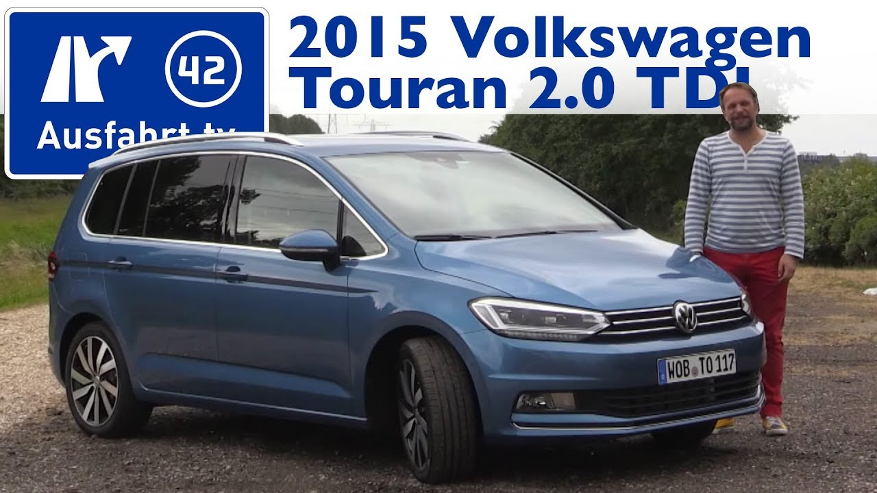 2015 volkswagen touran 2 0 tdi 150 ps highline kaufberatung test review youtube. Black Bedroom Furniture Sets. Home Design Ideas